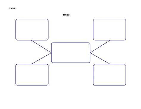 search results for nursing concept map blank template