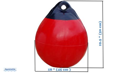 boat fender buoy boat buoy dock mooring fender 18 inches