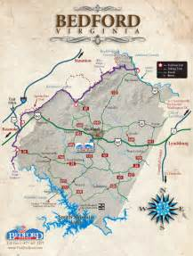 bedford map area maps visit bedford virginia