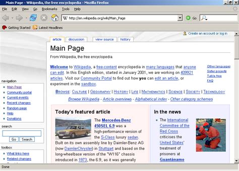 how to install firefox 35 0 1 on linux systems linuxg file mozilla firefox 1 0 front page screenshot png