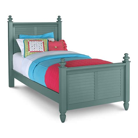 blue beds twin beds value city furniture seaside blue bed loversiq