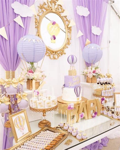 Purple And Gold Baby Shower by Best 25 Baby Shower Purple Ideas On Purple