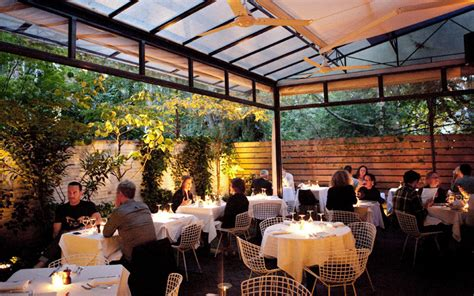 Restaurants With Gardens Nyc by Bottino New York