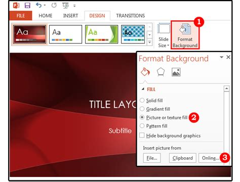Powerpoint Background Tips How To Customize The Images Colors And Borders Pcworld How To Change Template In Powerpoint