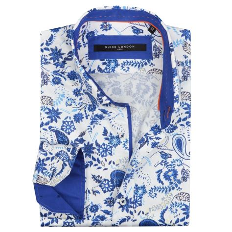 blue guide london blue 1905131631 mens paisley shirts the shirt store guide london mens shirts