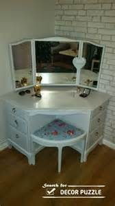 corner makeup vanity with mirror 1000 ideas about corner makeup vanity on