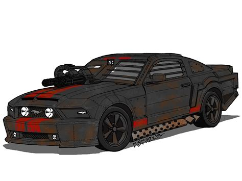 ford mustang of frankenstein of the death race by