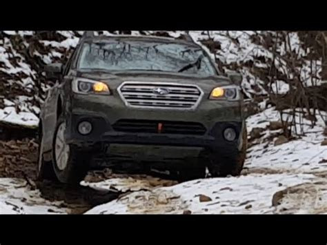subaru outback offroad wheels 2015 subaru outback road gets its wheels in the air