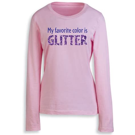 pink is my favorite color my favorite color is glitter s t shirt in pink at