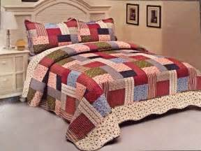 Quilts Comforters Bedspreads by Roses Bedding Quilt Bedspread Coverlet 3 Pc