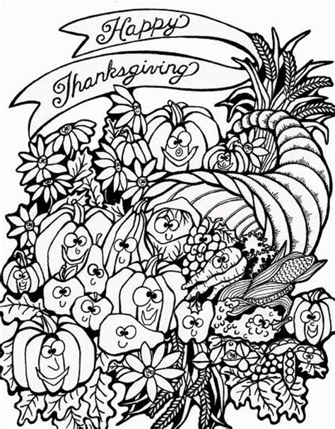 thanksgiving mandala coloring pages harvest cornucopia thanksgiving coloring pages to print