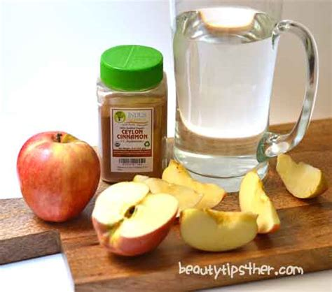 Apple Cinnamon Detox Water With Powdered Cinnamon by How To Make Detox Apple Cinnamon Metabolism Water Zero