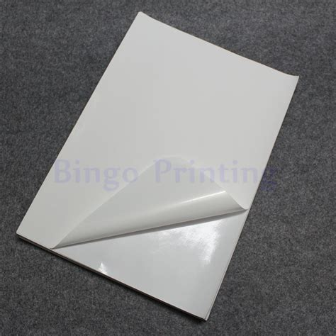 Toner Temualwak Sticker Kertas aliexpress buy 50 sheets white a4 waterproof sticker polymer paper synthetic paper blank