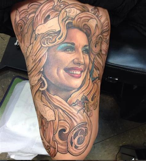 dolly partons tattoos 35 amazing dolly parton tattoos nsf part 3