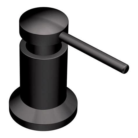 black soap dispenser kitchen sink moen 3942bl kitchen soap and lotion dispenser matte black
