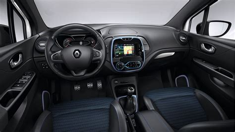 renault captur interior 2016 limited edition renault captur wave launched in france