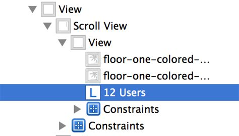 xcode relative layout ios position uilabel relative to uiimage in universal
