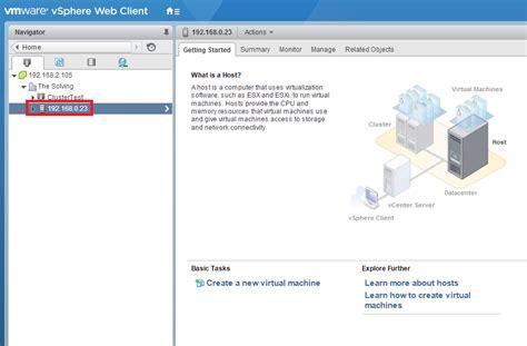 Mba Configuration Menu Dell Esxi by Come Configurare E Gestire Il Firewall Esxi The Solving