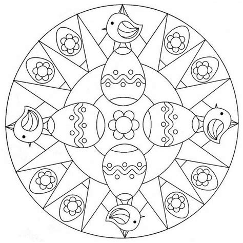 bird mandala coloring pages crafts actvities and worksheets for preschool toddler and