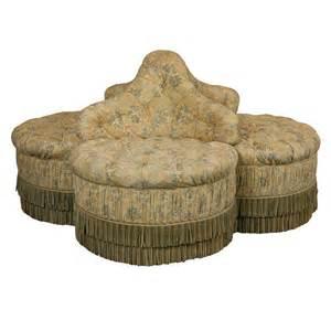 circular sofa chair upholstered borne or circular sofa at 1stdibs