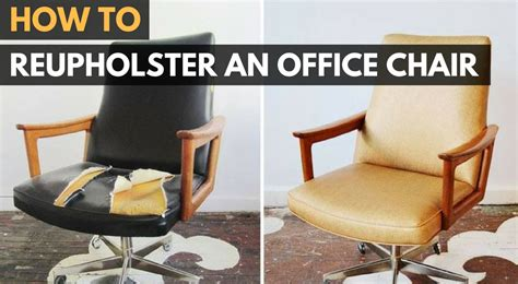 how to reupholster an armchair chair office chairs how to reupholster an office chair