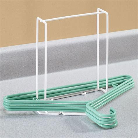 How To Make A Hanger Holder - hanger storage rack hanger organizer kimball