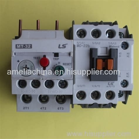 Contactor Ls Mc 9b ls metasol mt series compatible with mc 9b to mc 22b and