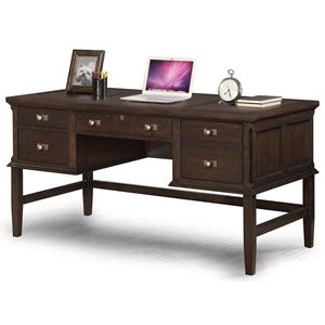 writing desk with charging station wynwood a flexsteel company walnut creek executive desk
