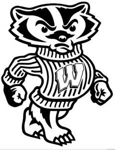 Wisconsin Badgers Free Coloring Pages Wisconsin Coloring Pages