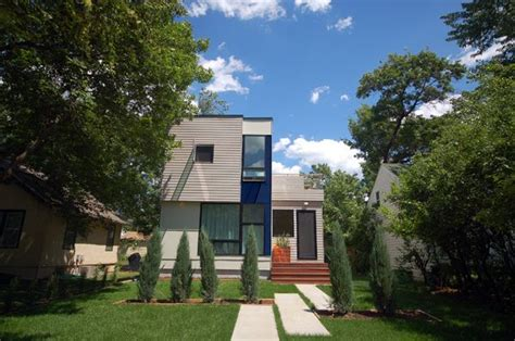modern prefab homes mn bline hive modular thoraldson front curb appeal pinterest