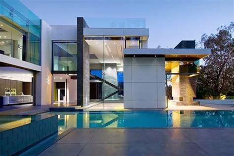 villa de reve  beverly hills modern house design