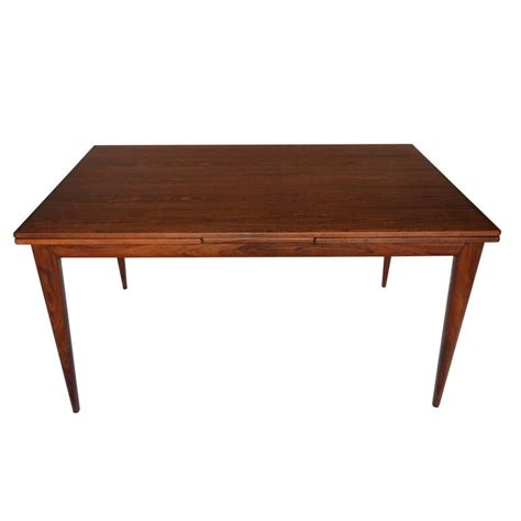 hermosa table l brown niels otto moller rosewood dining table model no 12 at