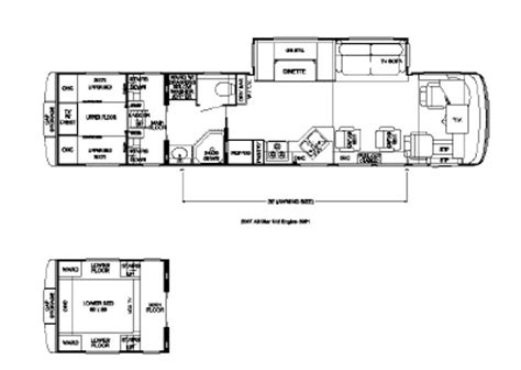 newmar floor plans 2007 newmar all star atme 3951 floorplan