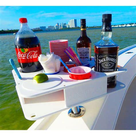 boat drinks holders fully custom docktail bar