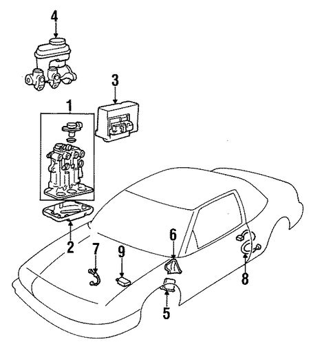 service manual 1996 oldsmobile cutlass supreme transmission interlock solenoid repair