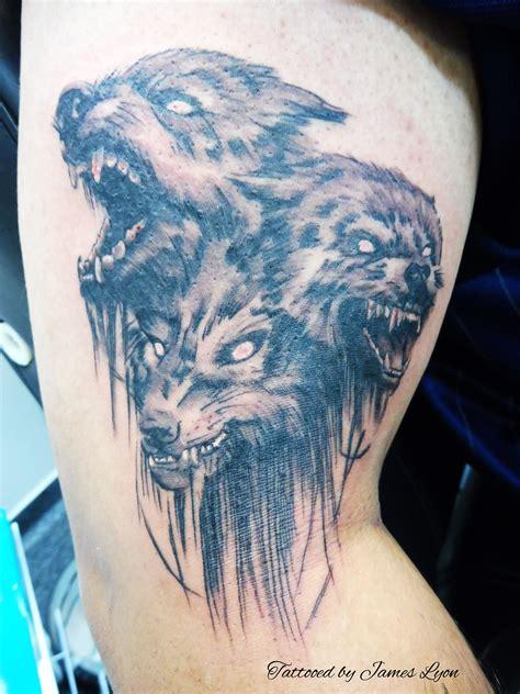 hellhound tattoo hellhound pictures to pin on pinsdaddy