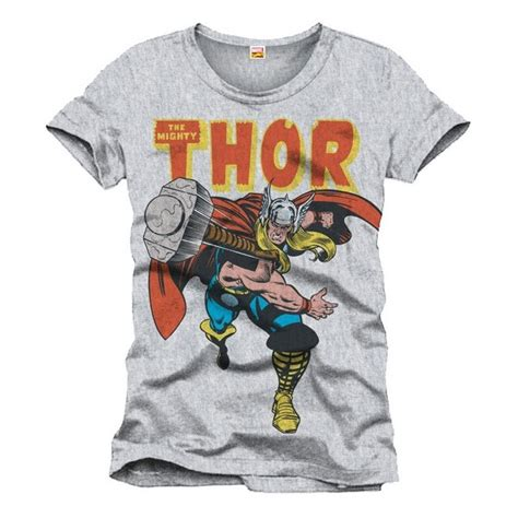 Kaos Tshirt The Avenger T Shirt Thor thor the mighty comic book t shirt from marvel comics forom47