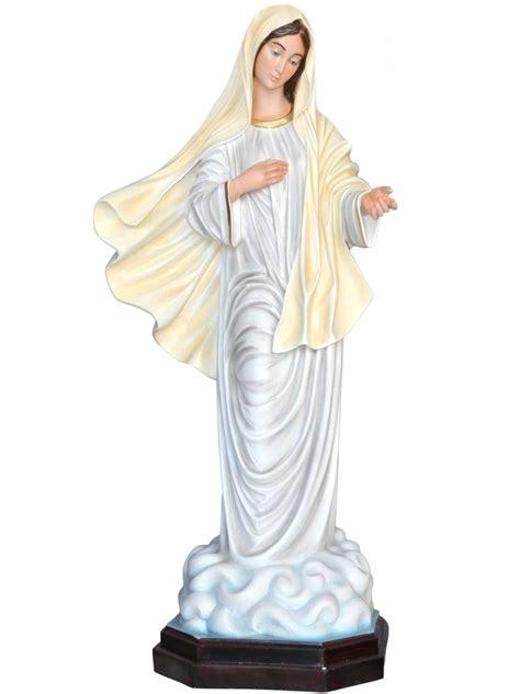 statue per interni statua madonna medjugorje per esterni spedizione gratis