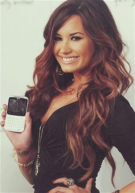 demi hair color demi lovato the hair and color stuff