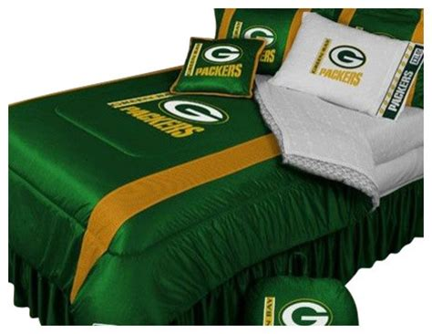green bay packers bed set green bay packers nfl bedding sidelines comforter and