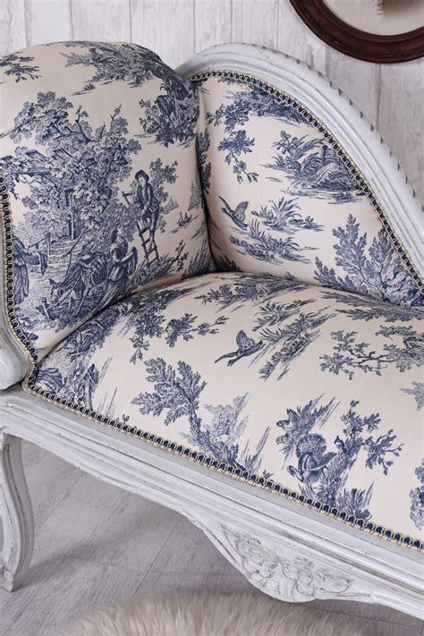 Sofa Ottomane by Chaise Longue Toile De Jouy Recamier Sofa Rococo Stool