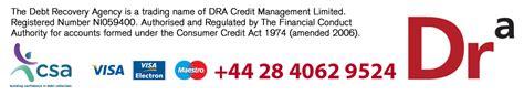 dra management dra credit management