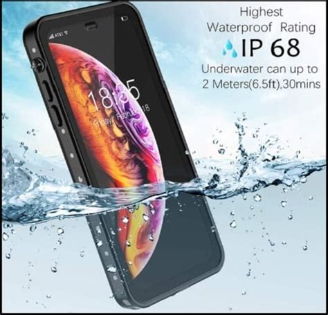 best iphone xs max waterproof cases with these covers lify the water resistance