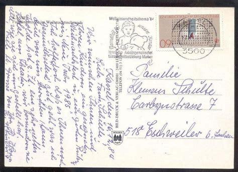 Postkarten Drucken Kassel by 196 Ltere Postkarte Kassel Fussg 196 Ngerzone Im