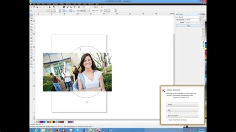 tutorial corel draw power clip corel draw tutorial how to use power clip or mask youtube
