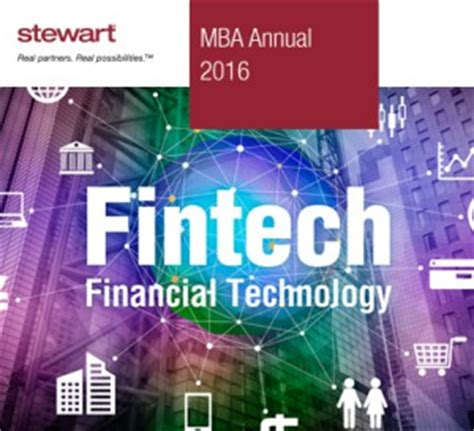 Mba Annual Conference 2016 by Cfpb S Project Catalyst Report Highlights Fintech