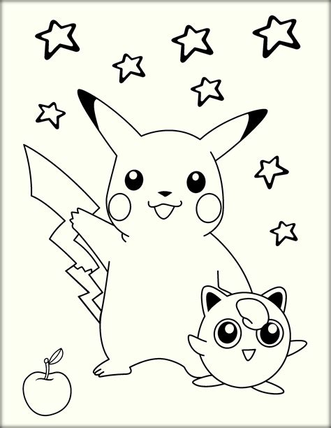what color is pikachu pikachu printable coloring pages printable coloring page