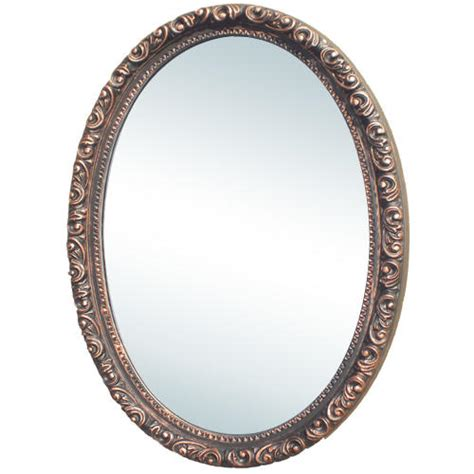 oval surface mount medicine cabinet camille antique oval medicine cabinet w mirror surface