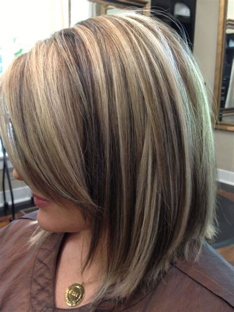 low lights for brown haired bobs bob haircuts with highlights images and video tutorial