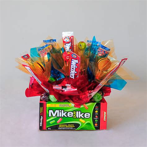 how to do a christmas candy sunday centerpiece children s bouquet